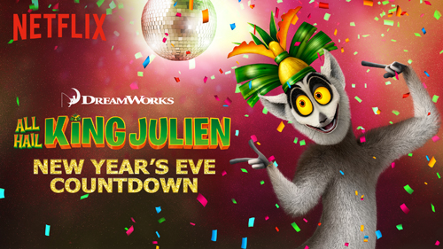 King Julien NYE